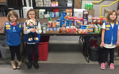 Girl Scout Daisies Donation