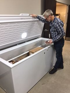 New Freezer From PCA