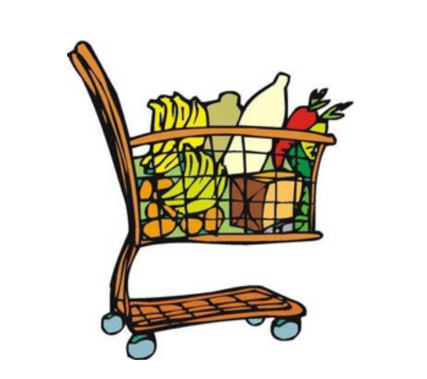 associated charities virtual campaign associated charities of rh associatedcharities com grocery cart clipart black and white grocery cart clipart free