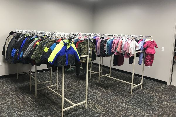 kids clothes closet | associated charities