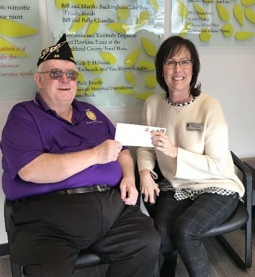 American Legion Post #88 Donation