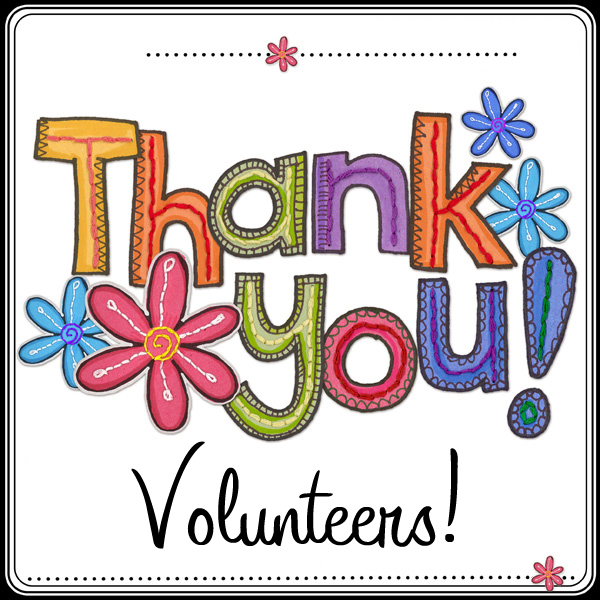 Volunteers - Thank You!